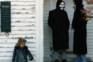 mask the devil and god are raging inside me brand new album covers house children