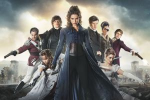 matt smith lena headey sam riley bella heathcote lily james costumes sword pride and prejudice and zombies actor