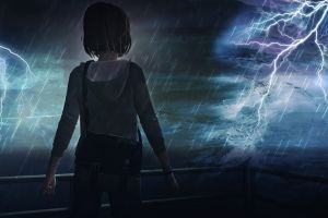 max caulfield rain storm life is strange