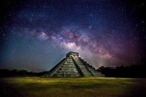 maya (civilization) pyramid stars architecture