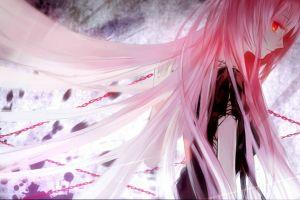 megurine luka pink hair anime girls vocaloid