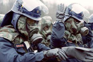 men helmet gas masks