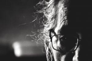 men old people monochrome