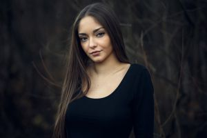 merisa face portrait women