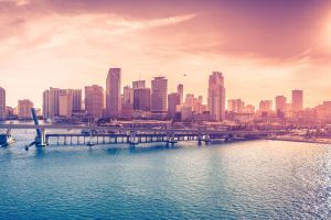 miami city florida skyscraper