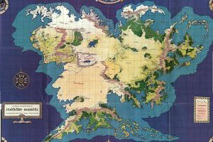 middle-earth the lord of the rings map