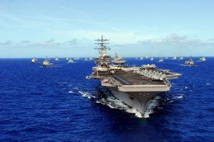 military aircraft aircraft ship uss carl vinson (cvn-70) military