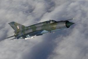 military aircraft mig-21 aircraft