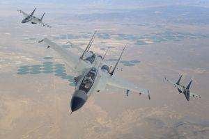military aircraft sukhoi su-30mki warplanes