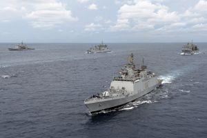military ship vehicle indian-navy sea warship