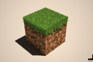 minecraft video games cube