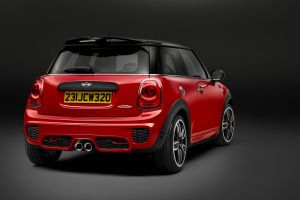 mini cooper car mini jcw vehicle red cars