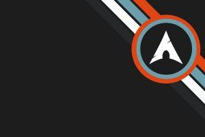 minimalism arch linux circle
