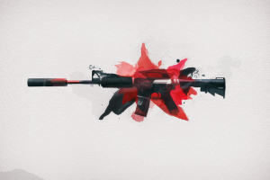 minimalism counter-strike: global offensive artwork rifles video games