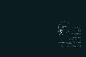 minimalism orbits astronomy equations physics