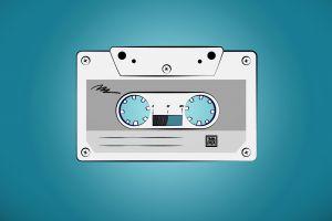 minimalism vintage artwork cassette