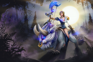 mirana dota 2 loading screen
