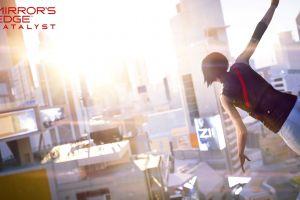 mirror's edge catalyst mirror's edge video games faith connors