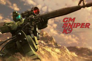 mobile suit mobile suit gundam 0083: stardust memory gundam mech sniper rifle