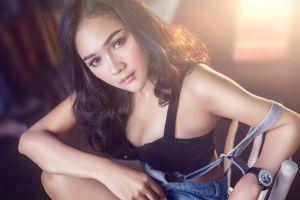 model asian women clocks