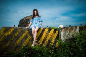 model asian women women outdoors