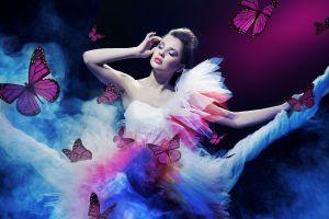 model butterfly women