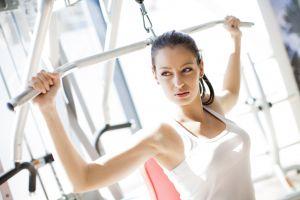model fitness model sports women