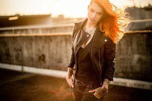 model redhead women