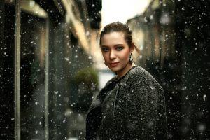 model urban snow women
