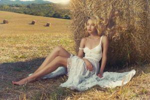 model white dress women