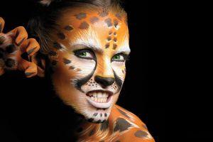 model women body paint