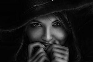 model women monochrome