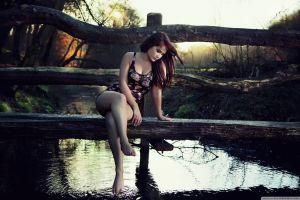 model women outdoors women