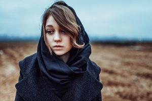 model women portrait