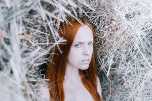 model women redhead