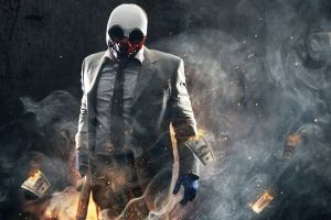 money mask gangster tie video games payday 2