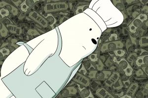 money webarebears cartoon bears capture