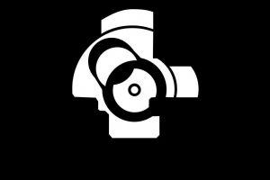 monochrome kalashnikov minimalism gun simple background