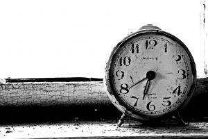 monochrome watch clocks
