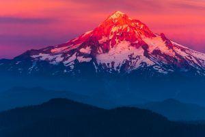 montana landscape mountains nature