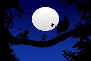 moon the lion king simba animated movies