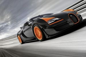 motion blur car race tracks bugatti veyron grand sport vitesse