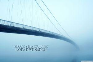 motivational quote bridge