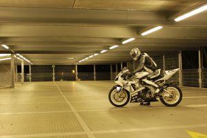 motorcycle garage vehicle yamaha