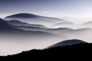 mountains photography nature mist landscape