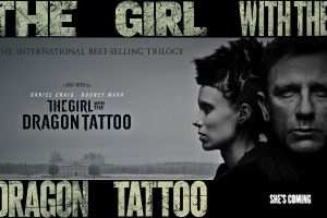 movies daniel craig david fincher stieg larsson movie poster rooney mara the girl with the dragon tattoo