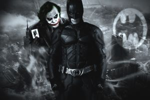 movies heath ledger the dark knight selective coloring batman