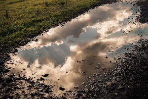 mud nature dirt reflection