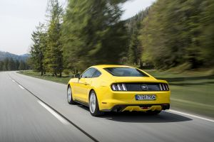 muscle cars car ford mustang gt motion blur road