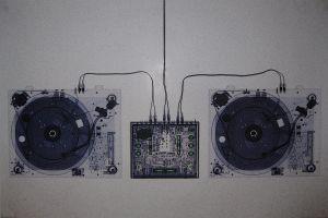 music gramophone sound mixers